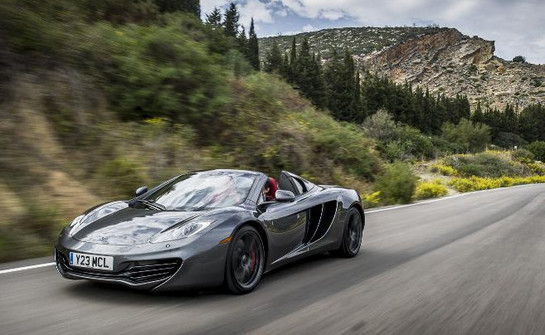 12c asia at McLaren Opens Its 40th Global Showroom In Taiwan