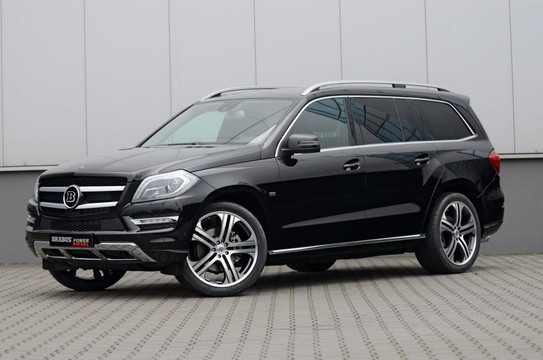 2013 Mercedes GL by Brabus 1 at 2013 Mercedes GL by Brabus