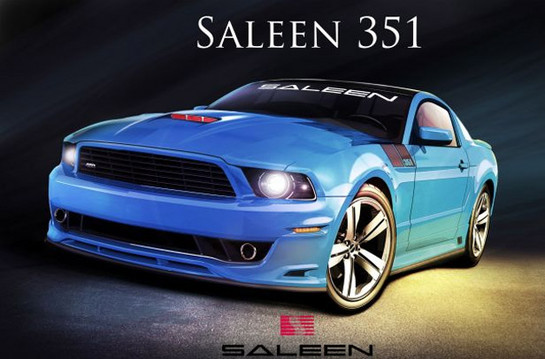 2013 Saleen Mustang 3 at 2013 Saleen Mustang 351 Announced