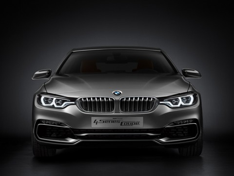 BMW 4 series Coupe 2 at Official: BMW 4 Series Coupe F32 Concept