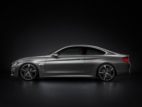 BMW 4 series Coupe 3 at Official: BMW 4 Series Coupe F32 Concept
