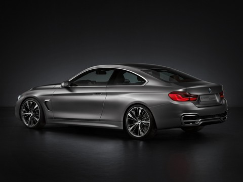 BMW 4 series Coupe 4 at Official: BMW 4 Series Coupe F32 Concept