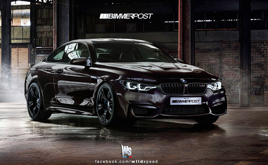 BMW M4 Coupe 1 at Rendering: BMW M4 Coupe F82