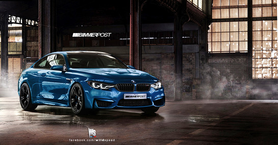 BMW M4 Coupe 2 at Rendering: BMW M4 Coupe F82
