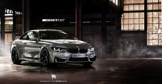 BMW M4 Coupe 3 at Rendering: BMW M4 Coupe F82
