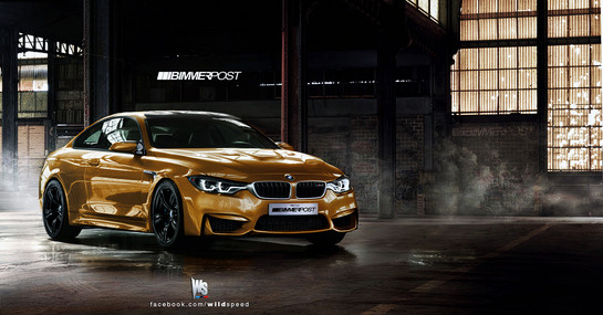 BMW M4 Coupe 4 at Rendering: BMW M4 Coupe F82