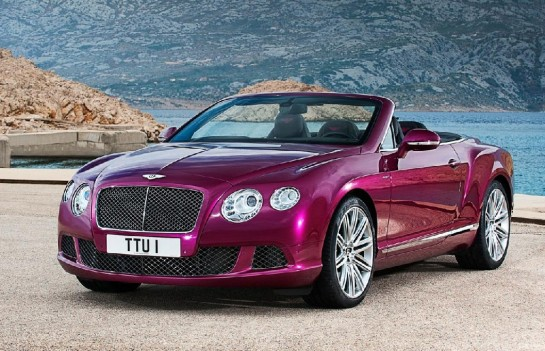 Bentley Continental GT Speed Convertible 1 545x351 at Bentley Continental GT Speed Convertible First Pictures