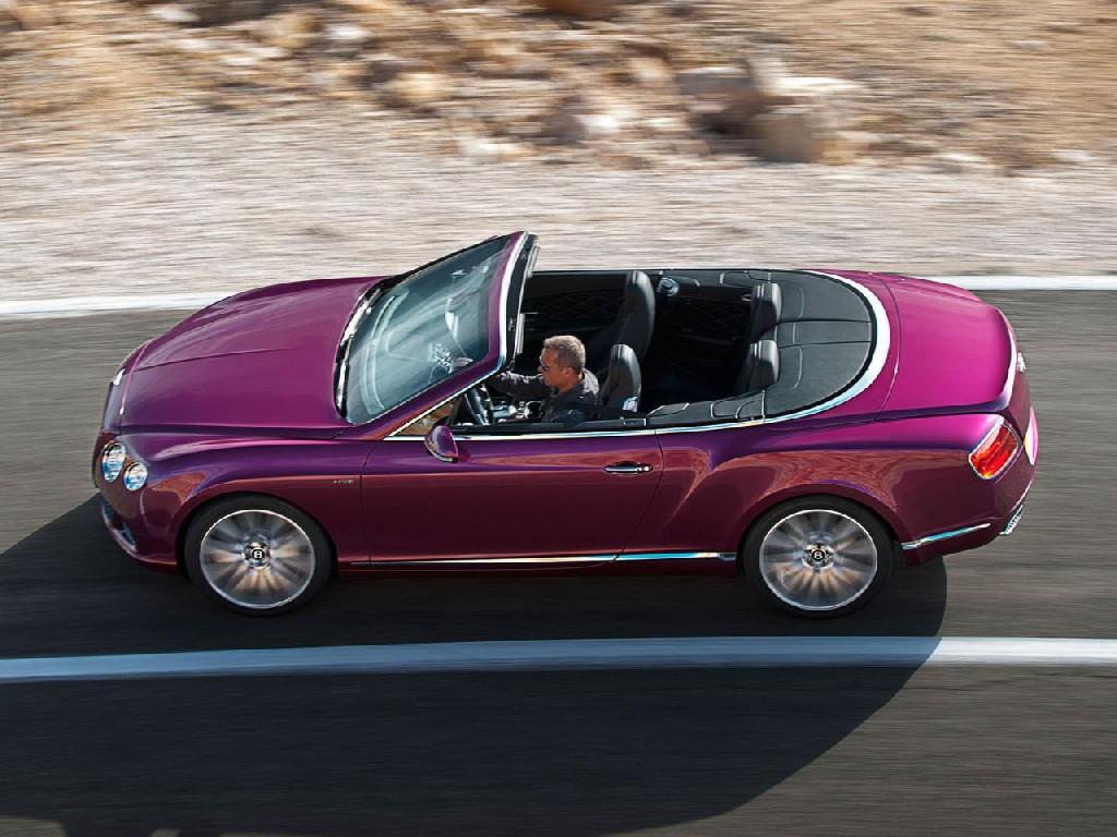 Bentley покажет самый быстрый кабр…