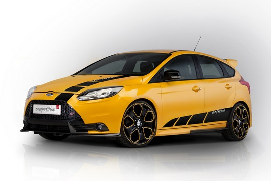 Ford Focus ST msdesign front high at Ford Focus ST Competition Kit by MS Design
