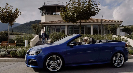 Golf R Cabriolet at VW Golf R Cabriolet Revealed In Video
