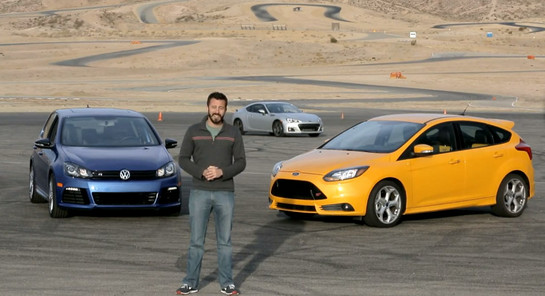 Head 2 Head Trio at Comparison: Ford Focus ST vs Golf R and Subaru BRZ