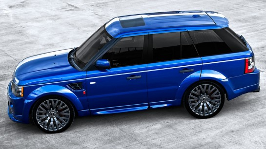 Kahn Range Rover Bali Blue 1 545x306 at Kahn Range Rover Sport RS300 In Bali Blue