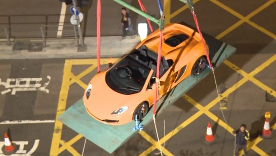 Launch of the 12C Spider in Hong Kong 545x307 at McLaren 12C Spider Makes Hong Kong Debut   Video