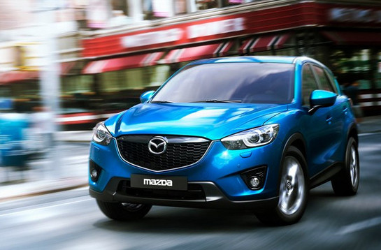 Mazda CX 5 at Mazda CX 3 Small Crossover In the Works