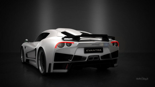 Mazzanti Evantra V8 3 at Mazzanti Evantra V8 Revealed Further
