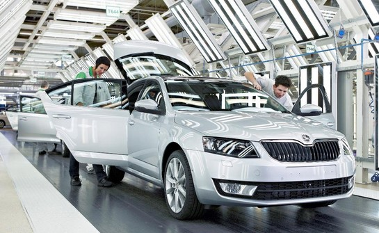 New Skoda Octavia 1 at New Skoda Octavia Enters Series Production