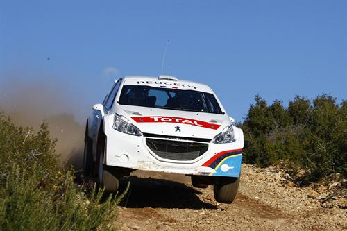 Peugeot 208 R5 2 at Peugeot 208 R5 Gets First Shakedown