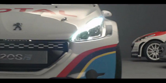 Peugeot 208 R5 Teaser at Video: Peugeot 208 R5 Teaser Trailer