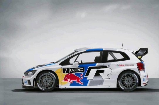 Volkswagen Polo R WRC 3 at Volkswagen Polo R WRC Ready For Action