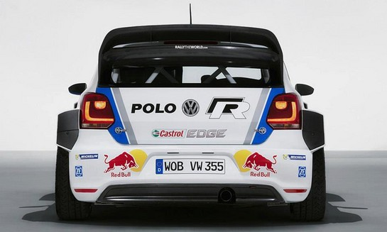 Volkswagen Polo R WRC 5 at Volkswagen Polo R WRC Ready For Action