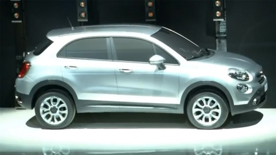 fiat 500x crossover at Fiat 500X Confirmed For Production In 2014