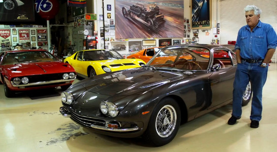 Rare Lamborghini 350 Gt At Jay Leno S Garage Video