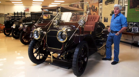 leno packard at Jay Leno Reviews His 1911 Packard Model 18