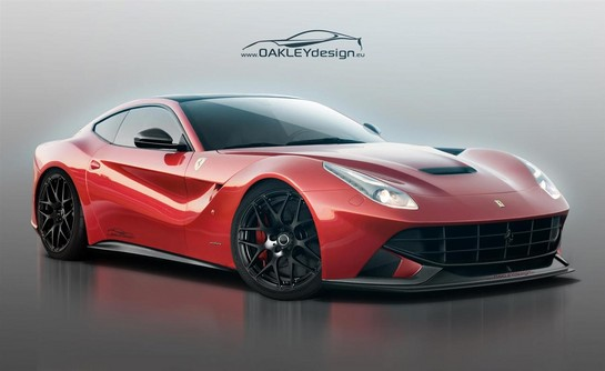 oakley ferrari f12 1 at Oakley Design Ferrari F12 Berlinetta Preview