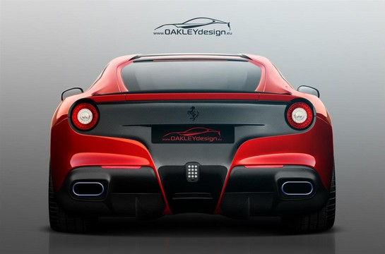 oakley ferrari f12 2 at Oakley Design Ferrari F12 Berlinetta Preview