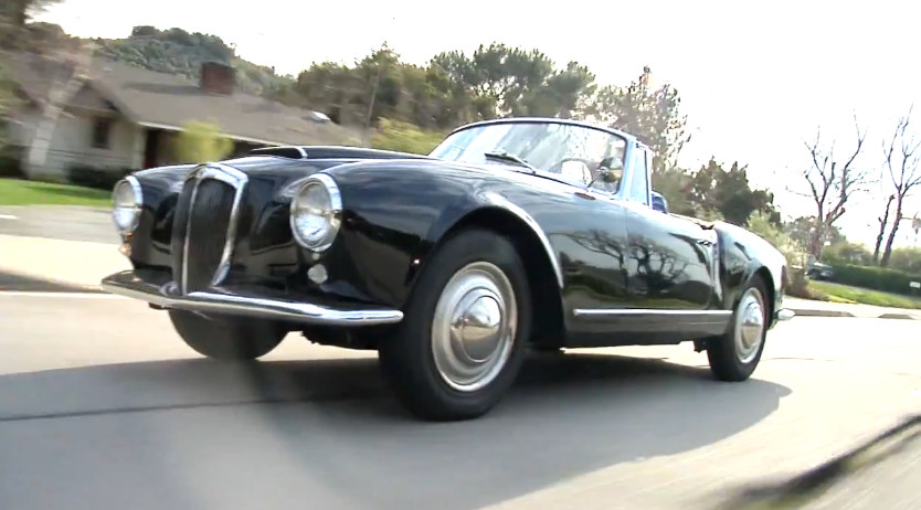 1958 Lancia Aurelia at Jay Lenos 1958 Lancia Aurelia Review   Video