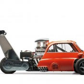1959 BMW Isetta 2 175x175 at 1959 BMW Isetta Dragster with Chevy V8 Engine