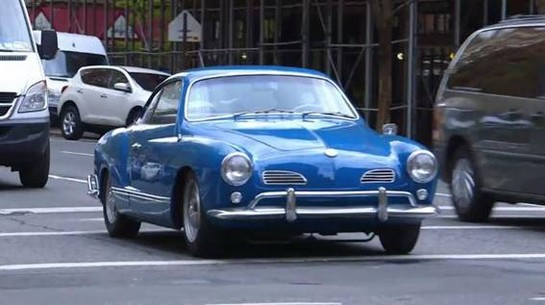 1963 Volkswagen Karmann Ghia at Cars and Comedy