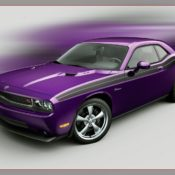 2010 dodge challenger rt classic plum crazy front side 175x175 at Dodge History & Photo Gallery