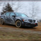 2011 dodge avenger rally car front side 2 175x175 at Dodge History & Photo Gallery