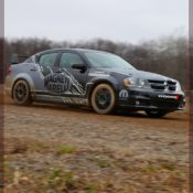 2011 dodge avenger rally car front side 3 175x175 at Dodge History & Photo Gallery