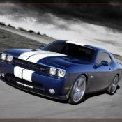 2011 dodge challenger srt8 392 front side 2 175x175 at Dodge History & Photo Gallery