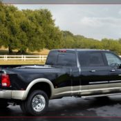 2011 dodge ram long hauler concept truck rear side 175x175 at Dodge History & Photo Gallery