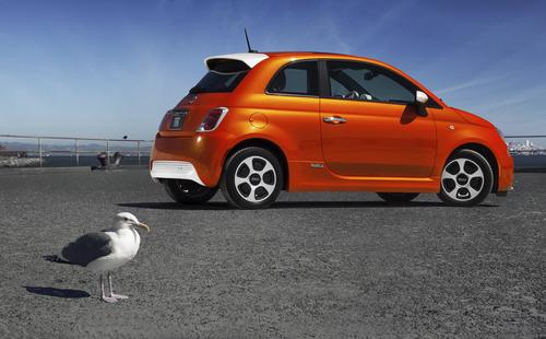 2013 Fiat 500e at 2013 Fiat 500e EPA Ratings Announced