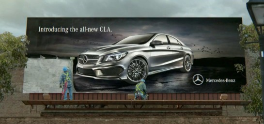 2013 Super Bowl CLA Ad 545x256 at Mercedes CLA 2013 Super Bowl Ad Released