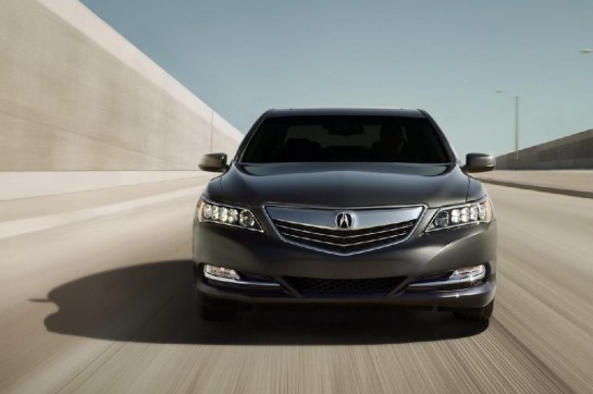 2014 Acura RLX 1 545x362 at Prices Revealed for 2014 Acura RLX
