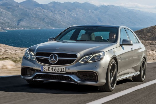2014 Mercedes E63 AMG 1 545x363 at Official: 2014 Mercedes E63 AMG Revealed