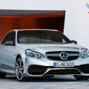 2014 Mercedes E63 rendering 175x175 at 2014 Mercedes E Class Coupe and Cabrio Unveiled