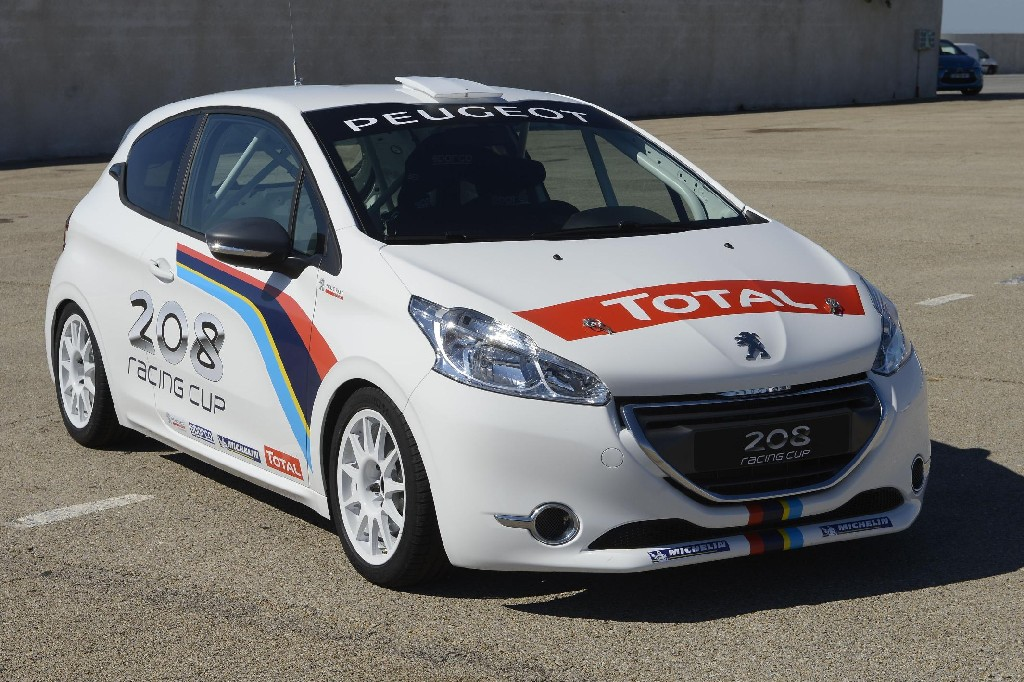 peugeot 208 gti racing experience caign