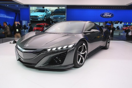 Acura NSX Unveiling 2 545x363 at NAIAS 2013: Acura NSX Unveiling Video