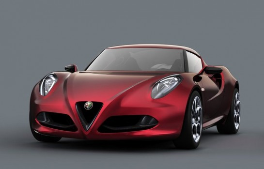 Alfa Romeo 4C Concept 545x349 at Alfa Romeo 4C to Launch in America Next Year
