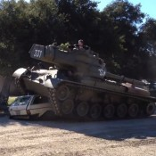 Arnold in Tank 175x175 at Awesome: Autocars Ultimate Drift Compilation