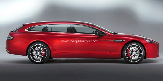 Aston Martin Rapide Shooting Brake 1 545x272 at Rendering: Aston Martin Rapide Shooting Brake