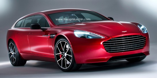 Aston Martin Rapide Shooting Brake 2 545x272 at Rendering: Aston Martin Rapide Shooting Brake