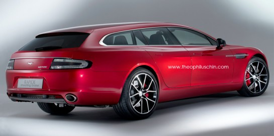 Aston Martin Rapide Shooting Brake 3 545x272 at Rendering: Aston Martin Rapide Shooting Brake