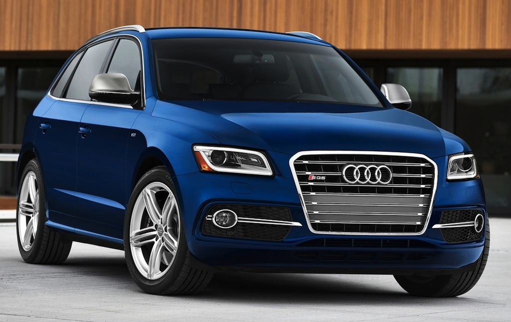 audi sq5 3 0 tfsi debuts in detroit. Black Bedroom Furniture Sets. Home Design Ideas